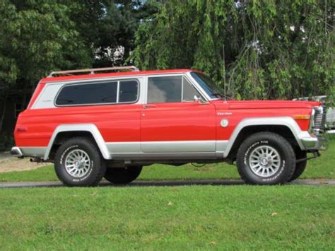 1979 jeep cherokee chief find used rare classic 1979 jeep cherokee chief s model in