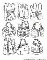 Bag Drawing Sketches Purse Handbag Sketch Illustration Bags Emily Rourke Shoe Rendering Draw Drawings Handbags Technical Designer Flat Illustrations Flats sketch template
