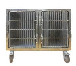 Gabbia Da - attrezzature gabbia da ricovero in acciaio inox 2 posti