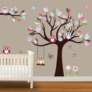 Wandtattoo Baum Kinder : wandtattoos f r kinderzimmer eine super idee ~ Whattoseeinmadrid.com Haus und Dekorationen