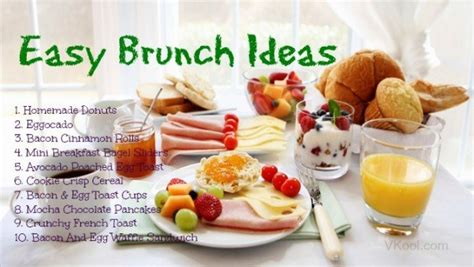 easy brunch ideas 22 quick easy brunch ideas to choose from