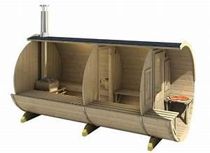 Sauna Mit Holzofen : fass sauna max aufbau anleitung bei selbst ist der mann ~ Whattoseeinmadrid.com Haus und Dekorationen