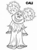 Coloring Smallfoot Yeti Coloriage Compagnie Cali Dessin Printable Yet Movie Sheets Imprimer Gratuit Cartoon Disney Kleurplaten Veggie Connections Birthday Clipart sketch template