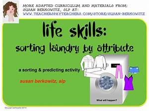 Language in Life Skills Sorting the Laundry Activities and ...
