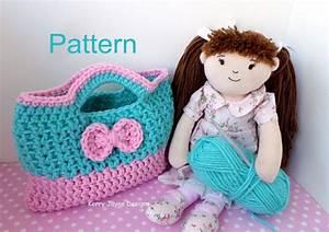 Cutie Bow Crochet Bag Pattern Usa