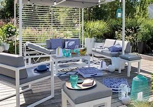 amenager une terrasse originale decouvrez nos meilleures With idee de terrasse exterieur 3 idee deco entree noir et blanc