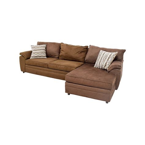 bobs furniture bobs furniture brown chaise