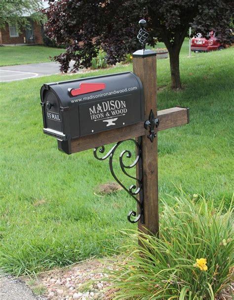 wrought iron mailbox post scrolled iron mailbox post dress up kit wrought iron 1666