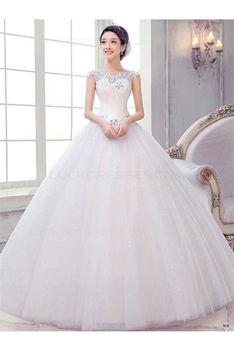 Ball Gown Sweetheart Lace Wedding Dresses Bridal Gowns 3030159