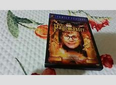 Unboxing Family Feature The Pagemaster DVD YouTube