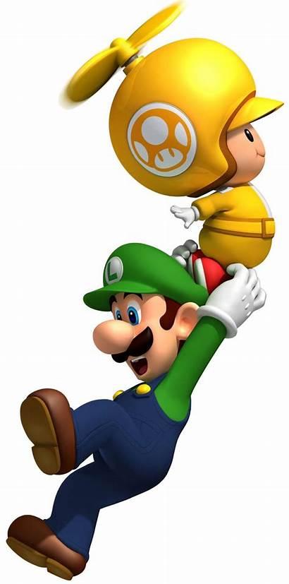 Mario Luigi Bros Super Toad Yellow Wii
