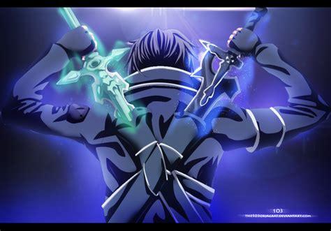 Kirito Dual By The-103 On Deviantart