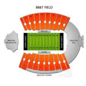 BB&T Field Seating Chart | Vivid Seats