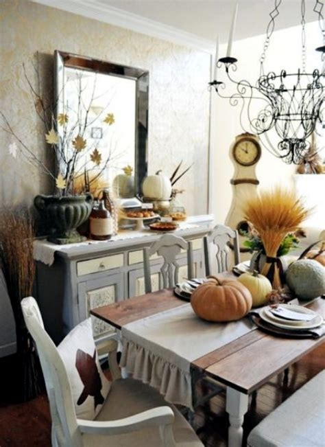 create cozy dining room   creative ideas herbstdeko