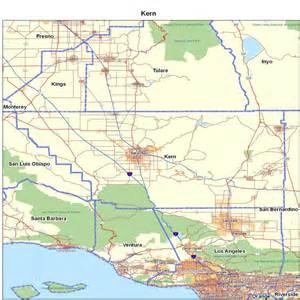 California City Kern County Map