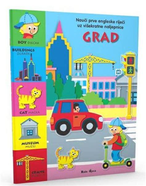 Nauči prve engleske riječi - GRAD