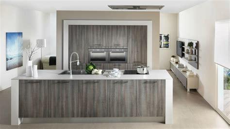 cuisine effet bois cuisine design schmidt