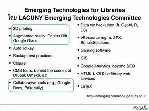 Emerging Technology for Library Services