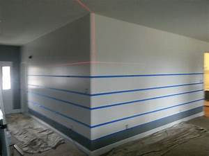 awesome horizontal painted stripes With awesome horizontal wall decals