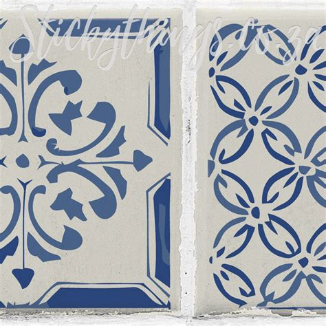 Peel And Stick Tile Decals by Peel And Stick Blue Tile Stickers Versatile Azulejo
