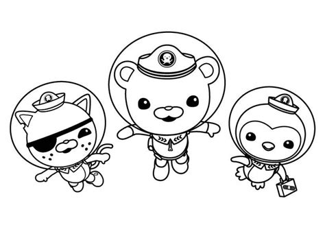 Get This Octonauts Coloring Pages Online 41626