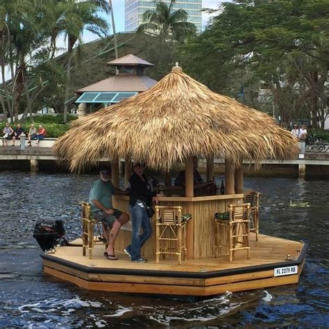 Tiki Bar Boat by Tiki Bar Boat Upscout Gifts And Gear To Adventure