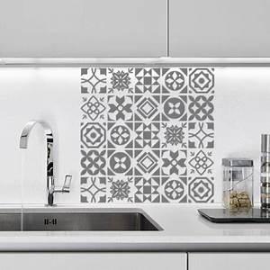 Carreaux De Ciment Autocollant : stickers pour salle de bain sur carrelage valdiz ~ Premium-room.com Idées de Décoration