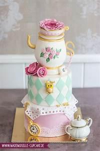Teekanne Alice Im Wunderland : alice im wunderland mademoiselle cupcake ~ Orissabook.com Haus und Dekorationen