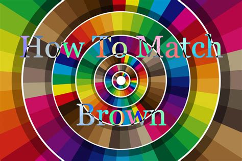 color matches brown