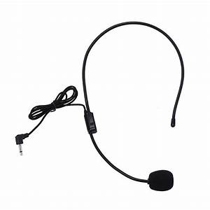 New Lightweight Portable Microphone Headphone With 3 5mm