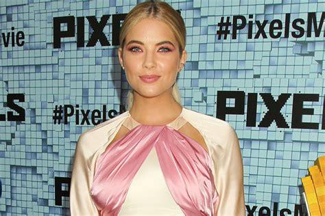 Ashley Benson Looked Super Pretty For 'pixels' Premiere In