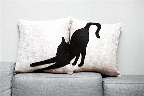 Pillows With Cat, Cat Lovers, Decorative Pillows, Sofa