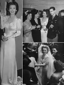 iconic wedding dresses iconic wedding dresses of the 40s the wedding secret magazine
