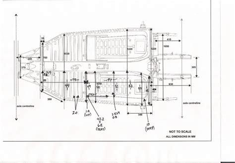 vw floor pan dimensions thesamba beetle 1958 1967 view topic pan