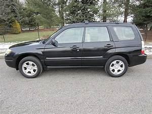 Buy Used Black 2006 Subaru Forester 2 5l Awd Runs Like New