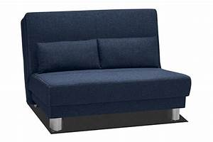Banquette 120 Cm : bz en 120 cm enzo bleu ~ Melissatoandfro.com Idées de Décoration