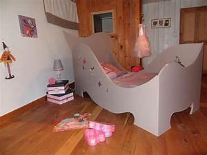 Lit Fille Original : pin petite fille on pinterest ~ Teatrodelosmanantiales.com Idées de Décoration