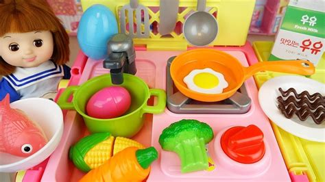 baby doll kitchen cart food cooking toys baby doli play