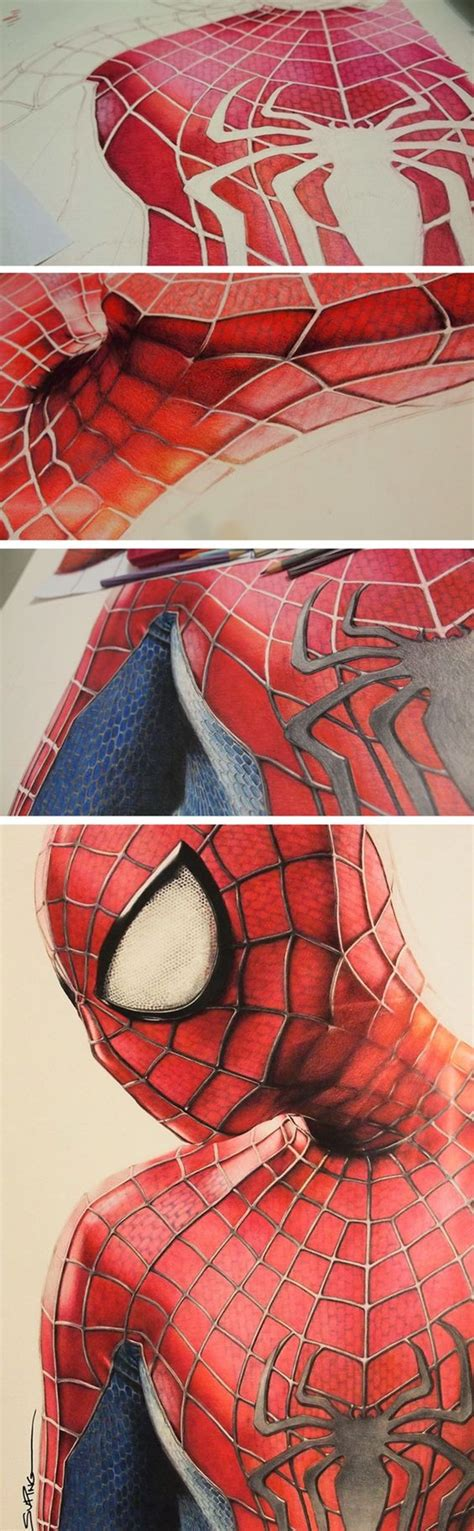 creative  simple color pencil drawings ideas