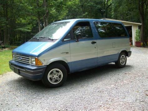 Ford Aerostar For Sale by Sell Used 1991 Ford Aerostar Base Mini Cargo 2 Door 3