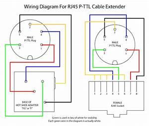 Diy Rj45 P-ttl Cable Extender