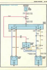 Renault Clio Mk2 Electric Window Wiring Diagram