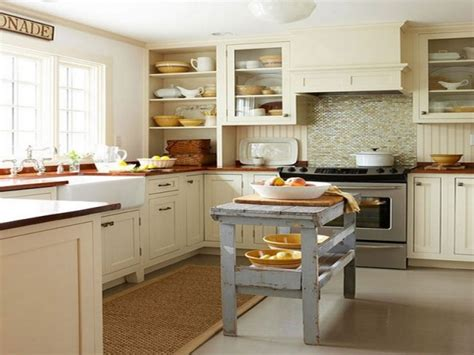 small narrow kitchen design meuble vintage en cuisine 30 photos d 238 lots tr 232 s styl 233 s 5529