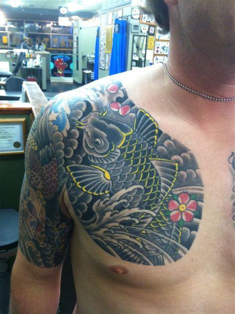 july  iron brush tattoo