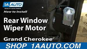 How To Install Replace Rear Window Wiper Motor 1993