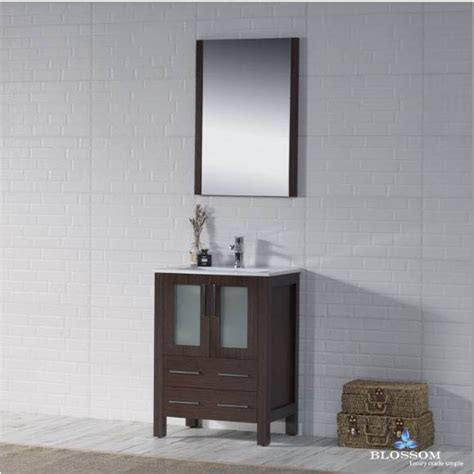 blossom bathroom vanity sydney color wenge