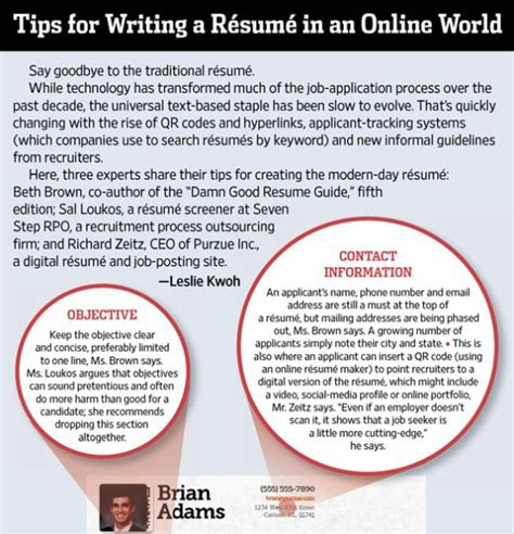 information on resume writing tips tips for writing a resume in an world infographic