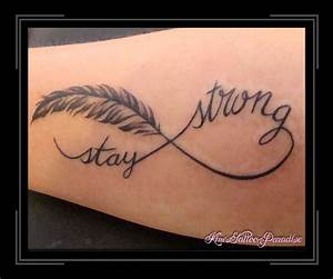 Stay Strong Anchor Tattoos