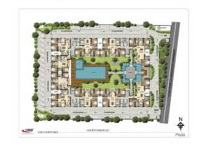 courtyard plans 3bhk apartment for rent in nanganallur chennai at lancor the courtyard apartment in