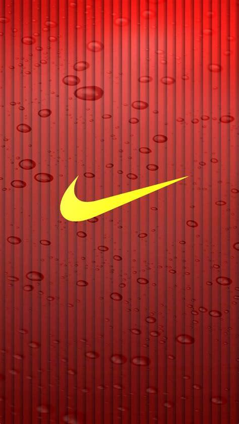 yellow nike logo iphone     iphone  wallpapers